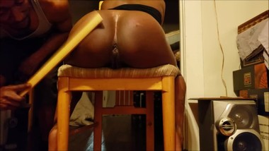 Candi gets a Playful Spanking v.2 Ebony MILF Intro to Impact Play