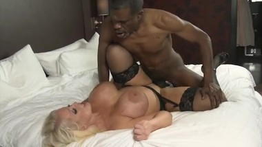 Black Monster Cock fucks Alura