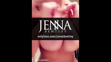 Jenna Bentley squeezing my tits promo!