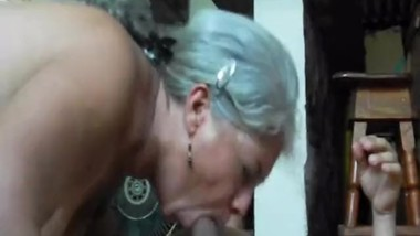 granny blowjob and anal homemade