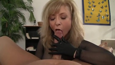 Nina Hartley pov handjob