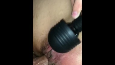 Fucking my wife's tight little asshole after she squirted
