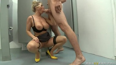 teacher fucked in the toilet