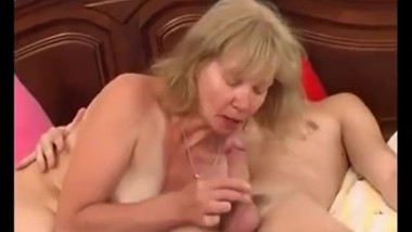 Blonde Whore Fucks Her StepSon