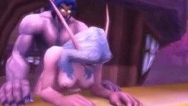 World of Warcraft- Night Elf Sex