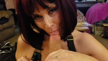 Big Tit Goth Tattooed Thick MILF Sucks Fucks Married Neighbor cum bubble