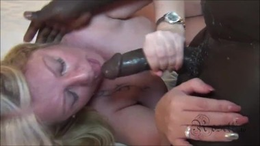 BLACK Blowjob with Facial