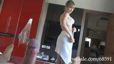 367 Most sexy licking cock tease II