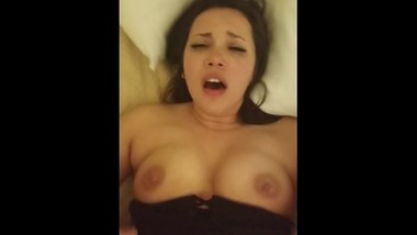 Fucking my hot big tit friend