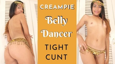 Creampie Finish for Hot Belly Dancer with Tight Cunt and Big Booty