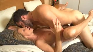 Step Mom Is Horny And Can't Resist Son