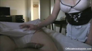 Hotel Maid Blows & Fucks Guy