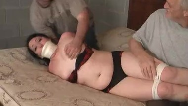 Jogger captured gagged and tied