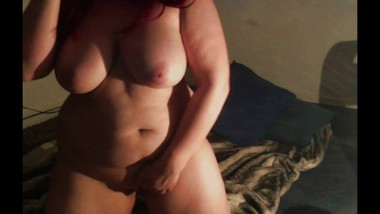 Chubby Natural Big Tits MILF Masturbation Amateur Red Head Strip Tease