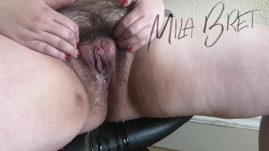 Close Up Pee - Milf Mila Bret