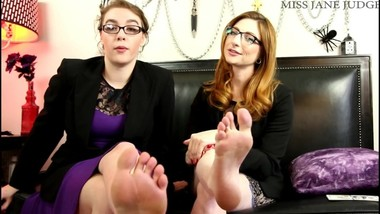 Perfomance Evaluation Foot Humiliation with Olivia Rose