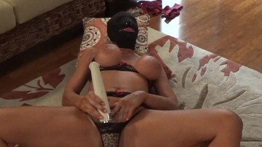 masked mom 2 exploding screaming orgasms watching porn alone beautiful milf