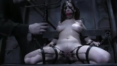 Pretty big tits slavegirl submission