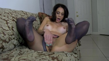 Eva's Nylon Fantasy starring Eva Long