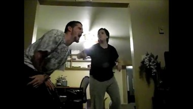 Ballbusting. MOM KICKS SON'S BALLS for misbehaving