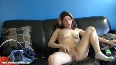 MILF smoking strip and play