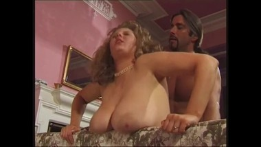 Big Tit British MILF Maxine Grant Fucked on the Sofa