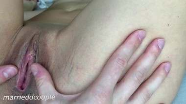 PUSSY CLIT LICKING and PUSSY FUCKING WITH TONGUE (CLOSE UP)