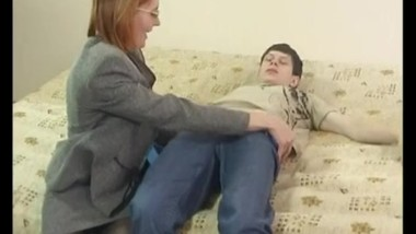 Russian mature Step mom Elisa with her boy