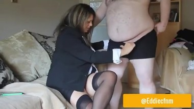 PREVIEW - Keeping the Sexy Boss Happy - amateur, homemade British cfnm