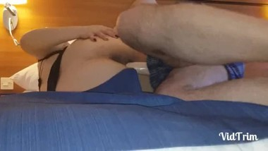 Morning sex with step mom and step son - Hotel Premier INN ( London )