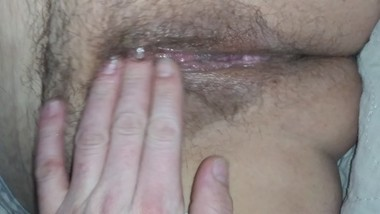 He Fingered my juicy wet cunt for another awesome squirting moaning orgasm