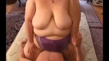 asian bbw buttdrop, bellydrop, facesitting