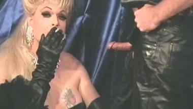 Fetish Queen and the Leather Man