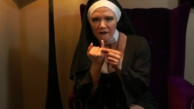 Cruel Nun Humiliates Your Little Penis SPH